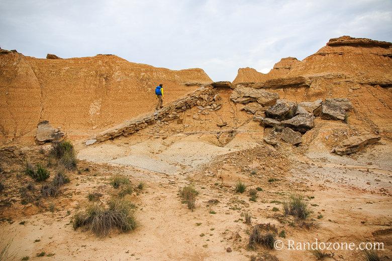 Randonnée Piskerra dans le désert des Bardenas