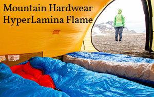 Actualité : Test du sac de couchage Hyperlamina Flame de Mountain Harwear