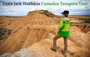 Actualité : Test de la veste Jack Wolfskin Cumulon Texapore Vent