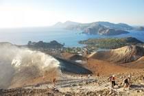 Apprentis vulcanologues en Sicile !