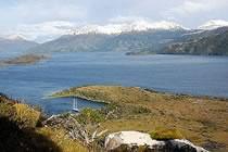 Cap Horn, glaciers de la cordill�re Darwin � bord de Va�h�r�