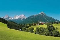 Alpages, lacs et sommets d'Autriche