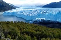 Glaciers de Patagonie et Indiens mapuches