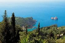 Corfou, l'île verte