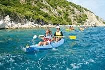 Kayak dans les îles Ioniennes - pour les 15-17 ans
