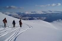 Ski voile en Norvège à bord du Southern Star