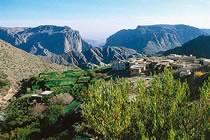 Les montagnes du djebel Akhdar