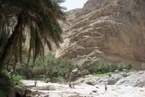 Les canyons d'Oman