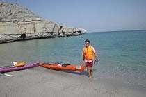 Kayak dans les fjords du Musandam