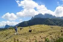 Ile de la R�union, montagnes de l'oc�an Indien
