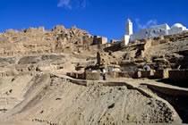 Montagnes berbères et caravane saharienne