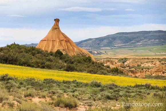 Castil de Tierra dans le désert des Bardenas