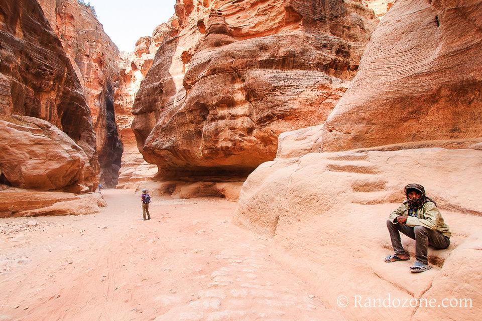 Randonnée dans Petra