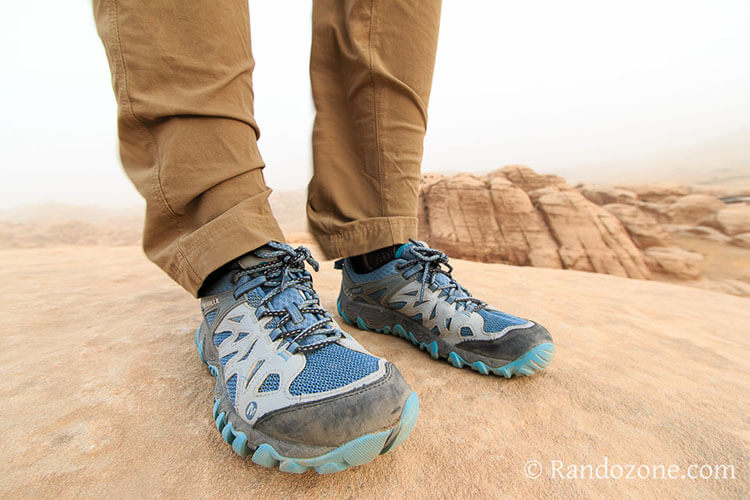 Test des chaussures Merrell All Out Blaze Aero Sport