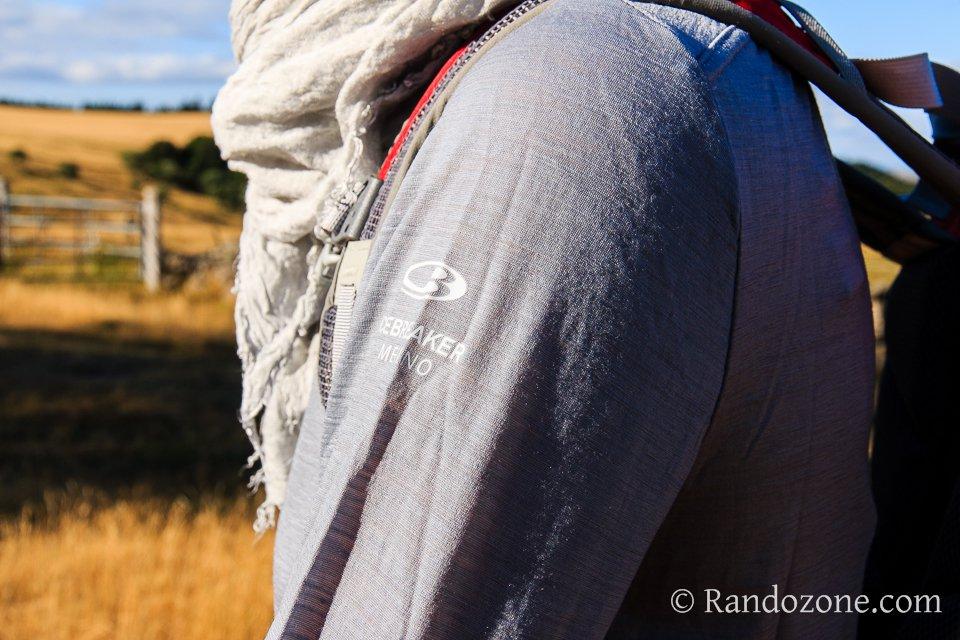 Test du tee-shirt Aero Long Sleeve Half Zip