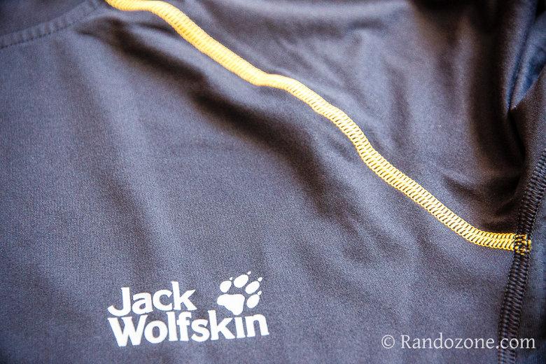 Test du tee-shirt Jack Wolfskin Dynamic Hollow Longsleeve