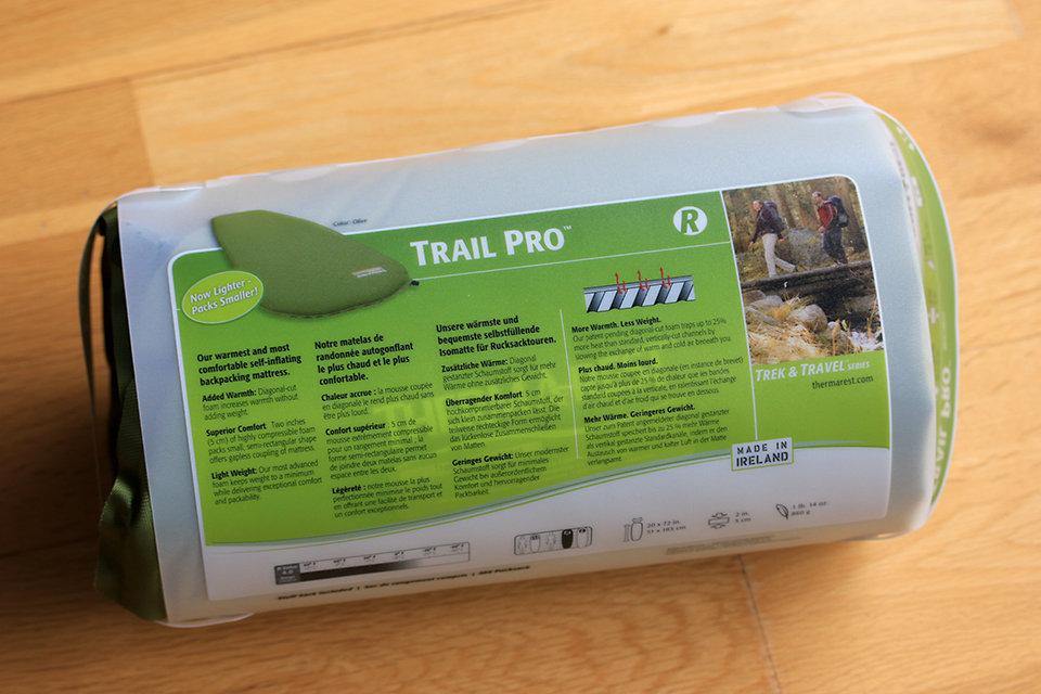 Test du matelas Therm-A-Rest Trail Pro