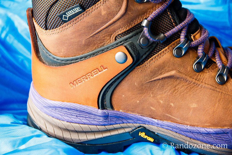 26169e53ae5 Test et avis   Chaussures de randonnée Merrell Crestbound Gore-Tex