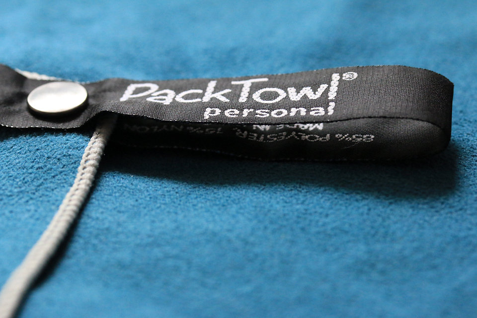 Test la serviette Packtowl Personal