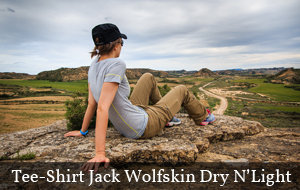 Actualité : Test et avis : Jack Wolfskin Dry N-Light