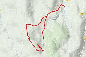 Tracé GPS Puy de la Tuile