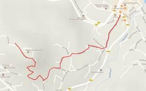 Topo GPS du château de Calmont d'Olt