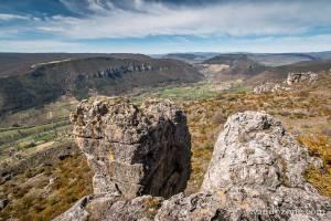 Roc des Agudes et Eglazines en boucle depuis Liaucous