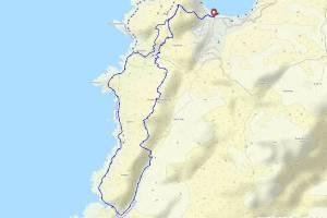 Boucle de Manna Mulina depuis le Belvédère de Campomoro